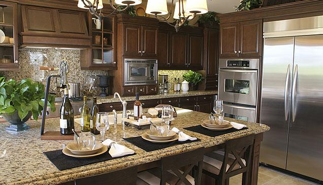 santa cecelia granite, home decor, kitchen design, Santa Cecelia granite