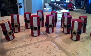 how about these cute santa ornaments made from wine corks one our facebook fans, Santa Ornaments made from wine corks