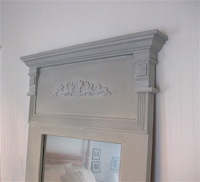 The whole project cost about $65, including the door. I used a lot of scraps of trim and moulding we already had.