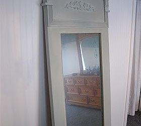 Making A Trumeau Mirror From An Old Door, Doors, Painting, Repurposing  Upcycling,
