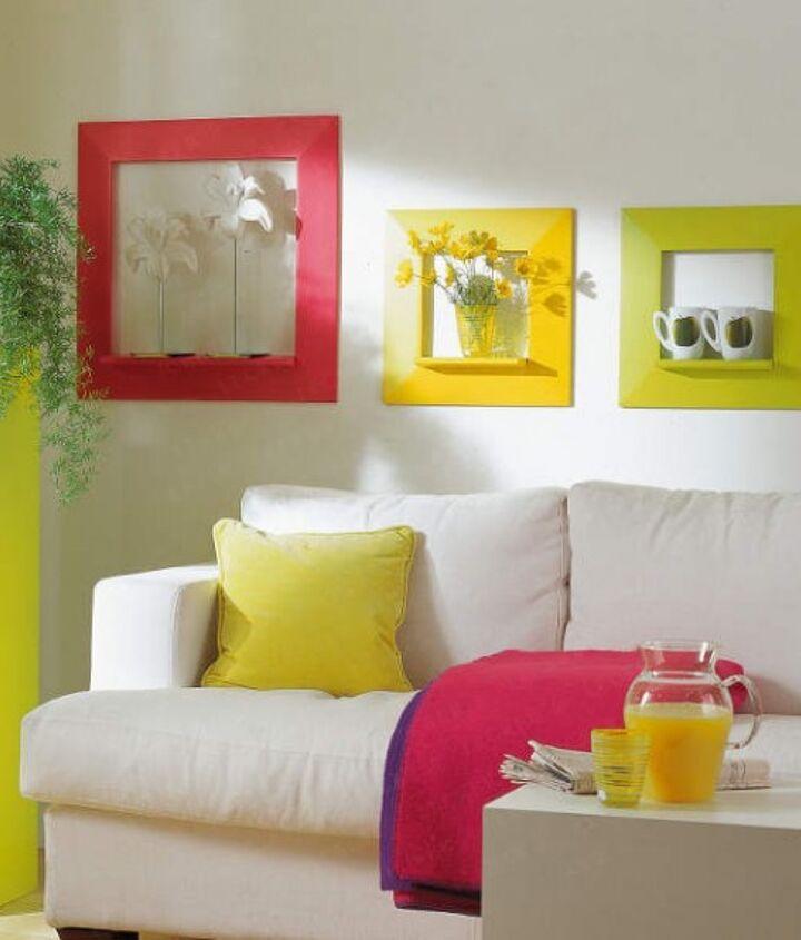 Color Blocking: Wall Art