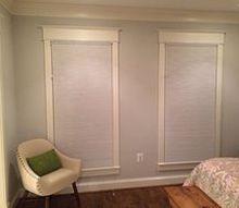 q need advice how to hang curtain with window frame, diy, home decor, window treatments, windows