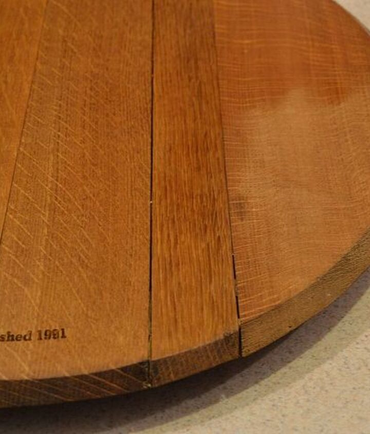 I also use it on our oak lazy susan.