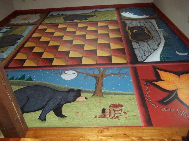 Seasonal Bear Floor!