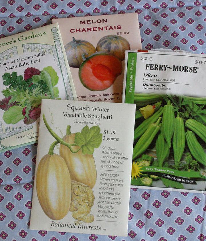 vegetable seed packs