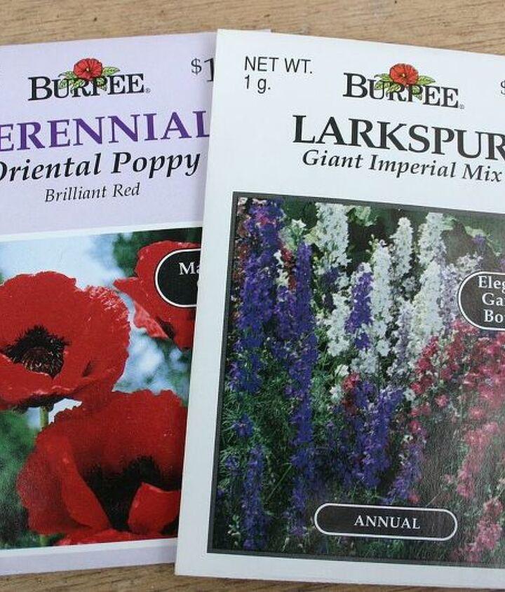 flower seed packs