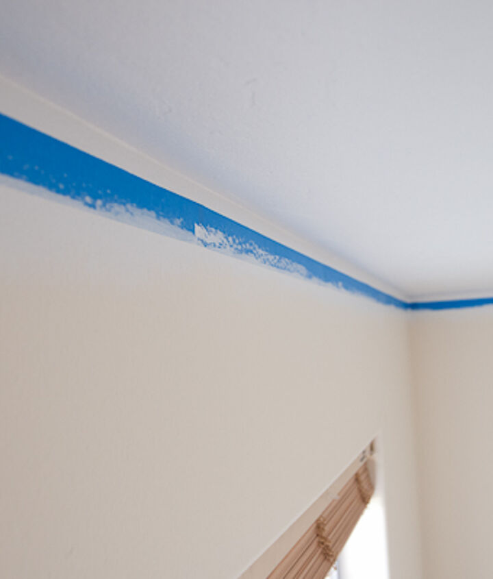 Use painters tape with a paint seal to get a clean line.