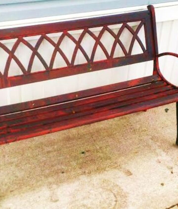 ALL DONE!! :) Bloody bench!
