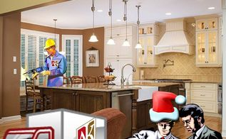 twas the night before remodeling an atlanta home renovation holiday poem, home decor, kitchen design, Twas The Night Before Remodeling