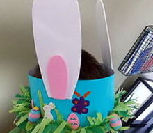 diy easter hat craft, crafts