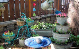 my garden in june, container gardening, gardening