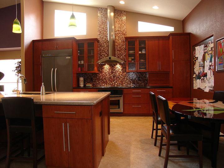 when our homeowner asked tri lite builders to redesign the kitchen to make it more, home decor, home improvement, kitchen backsplash, kitchen design, kitchen island