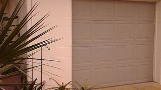 q any ideas on how to texture existing exterior painted block walls here in orlando fl, curb appeal, painting, even textured the garage door