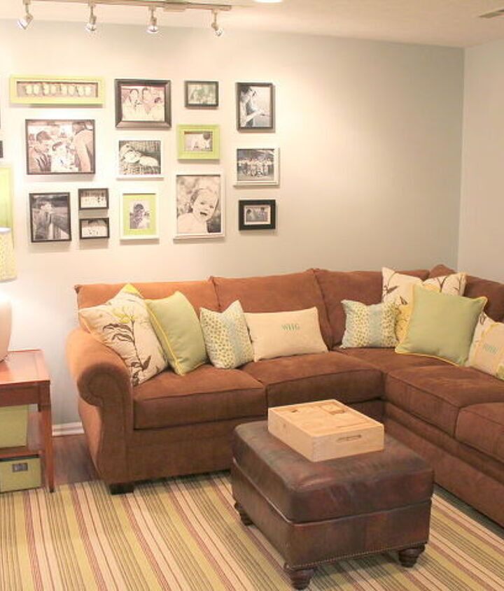 gallery wall, Dash & Albert rug and a new furniture arrangement.