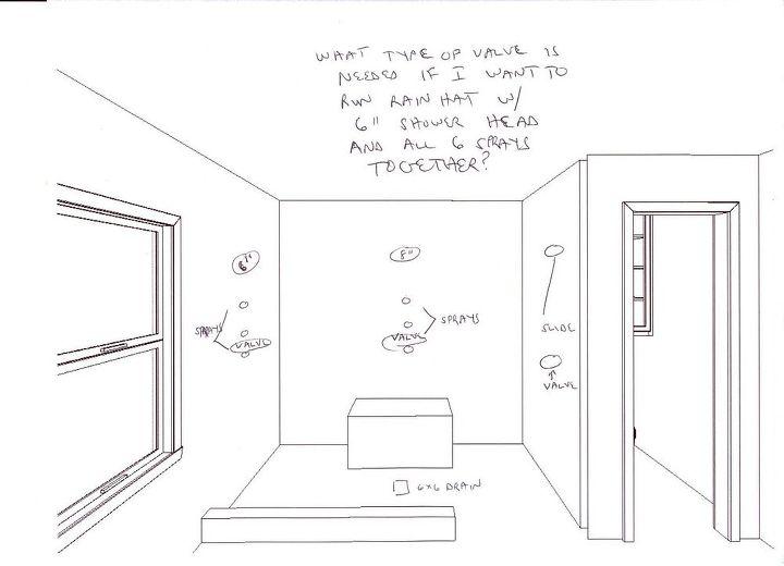 Shower Design Sketch