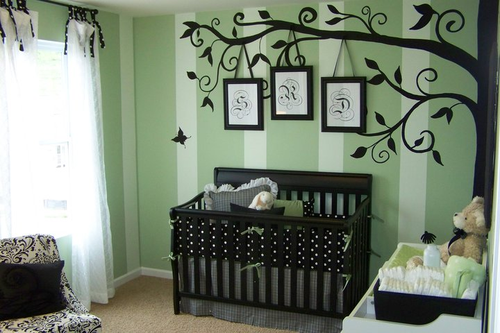 Sweet Silhouette Nursery