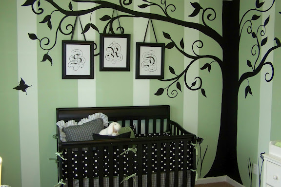 this is a nursery i painted for atlanta designer dawn kines in nashville tn, bedroom ideas, home decor, painted furniture