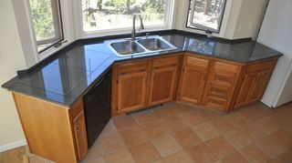 annapolis md i have friends who made beautiful countertops out of 12 x 12 blue, countertops, kitchen design, outdoor living, tiling, bullnosed tiles