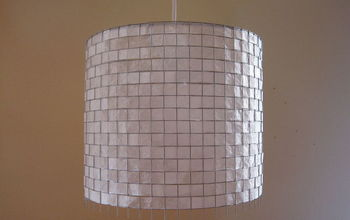 modern coffee filter lighting, crafts, home decor, repurposing upcycling