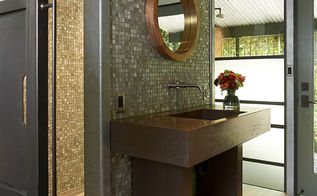 bathroom ideas for a spa like feel, bathroom ideas, home decor, It is perfect for a sink backsplash in a shower or even on the walls for a dramatic look