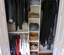 from pile to high closet style for a whoppin 50 bucks, cleaning tips, closet, organizing, 50 and 2 hours later I had this