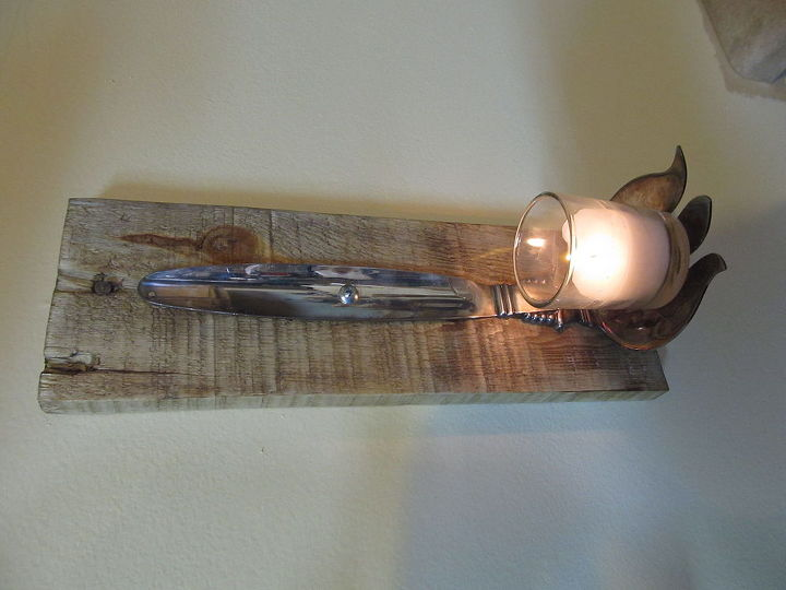 candle and candle snuffer holder, crafts, home decor, pallet, repurposing upcycling, woodworking projects