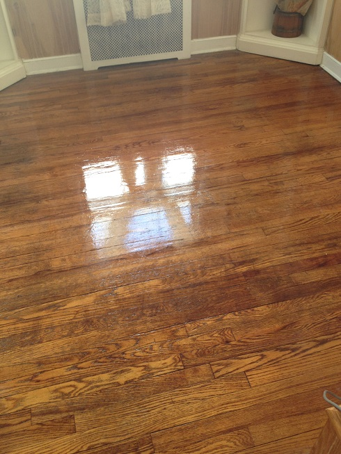 Making Old Floors Look Good Until You Can Afford New Ones