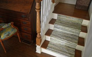 diy staircase runner for under 50, flooring, stairs
