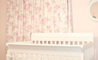 baby girl s nursery, bedroom ideas, home decor, Baby girl s nursery