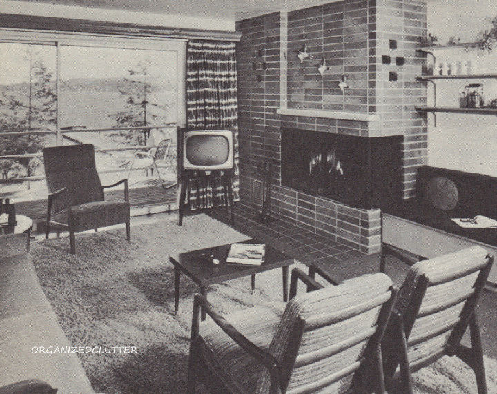 1960's all the way, even the television set.