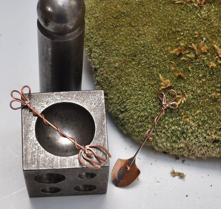 Gnome Garden: Making Miniature Tools For Fairy Gardens