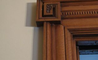 crossette turns into a rosette with carved acanthus center, doors, woodworking projects