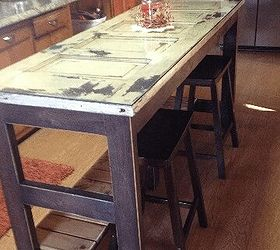 kitchen island made from an old door diy repurposing upcycling woodworking projects kitchen island made from an old door       hometalk  rh   hometalk com