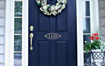 DIY Custom Sidelights Using Frosted Vinyl