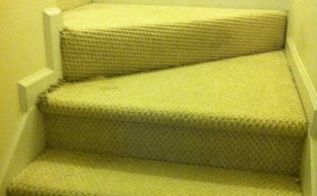 q help on renovating carpeted staircase, flooring, stairs, Carpeted staircase landings