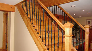 crown molding questions, wall decor, woodworking projects, stair railings
