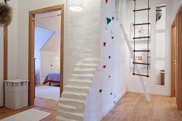 beautiful stockholm penthouse, home decor