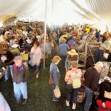tips for shopping antique shows and fairs, painted furniture, The Farm Chicks Show