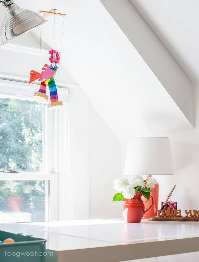attic craft room reveal hometalk