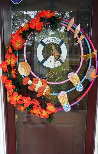 Debi M's Summer Memories Wreath... my inspirtion.