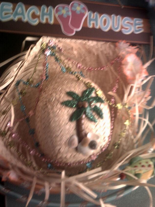 my summer wreath inspired by debi m washington nc, home decor