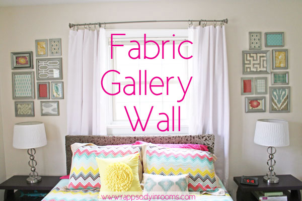 how to make a fabric gallery wall, bedroom ideas, crafts, home decor, reupholster, wall decor