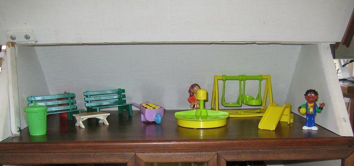 Attic play area