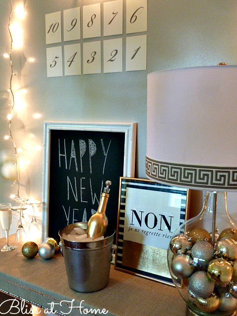Ring in the New Year in style! Here are the details on how to achieve this look perfect for the holidays and a great transition into New Year's!