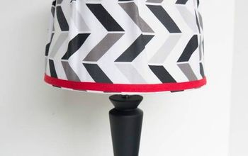 Great Tutorial on How to Cover a Lampshade With Fabric.