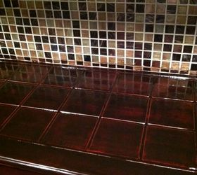 ... Q Covering Ceramic Tile Countertop, Countertops, Home Decor, After  Trying All Different Color