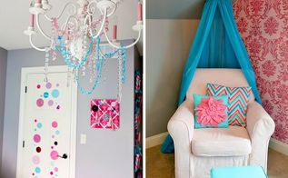 a bright beautiful stenciled nursery, bedroom ideas, home decor, painting, wall decor