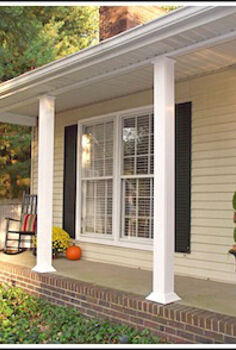 weekend porch makeover, curb appeal, lighting, porches, So much better The best part The makeover cost 150 Budget decorating love it