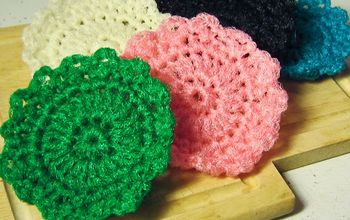 crocheted dish scrubbie pattern, crafts