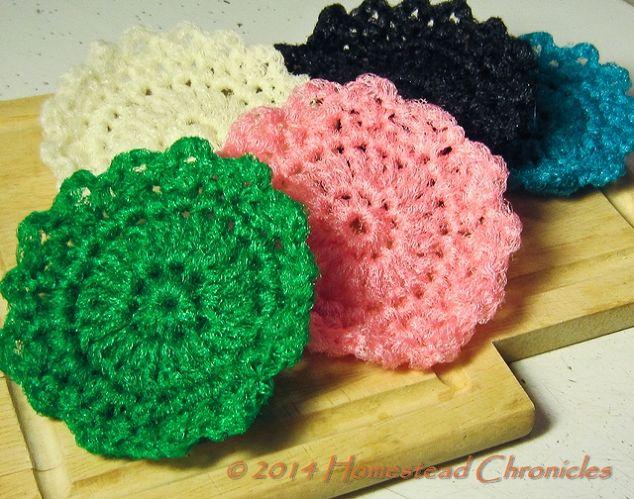 Crocheted Dish Scrubbie Pattern Hometalk